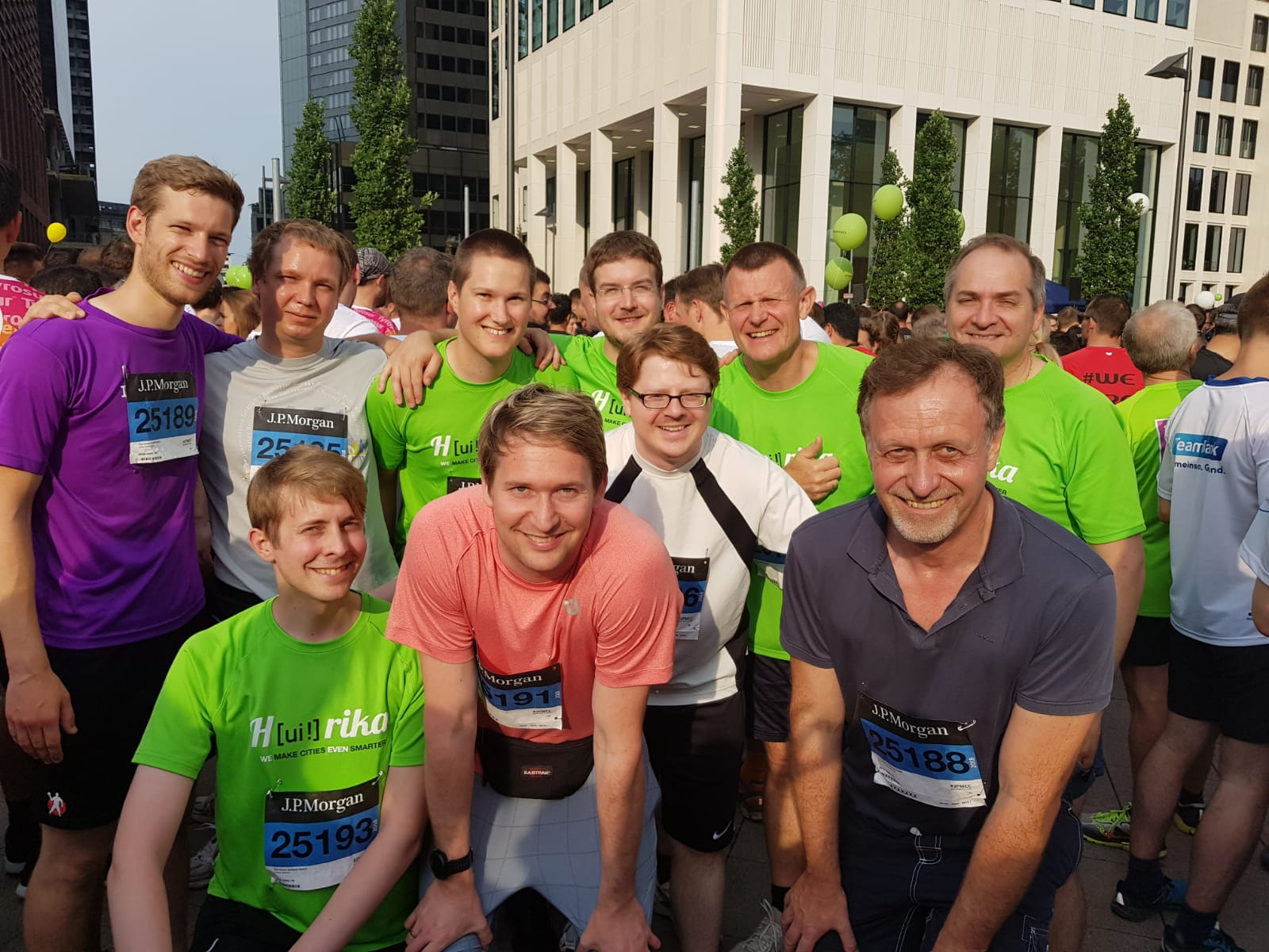 JPMorgan Lauf in Frankfurt - Team [ui!]